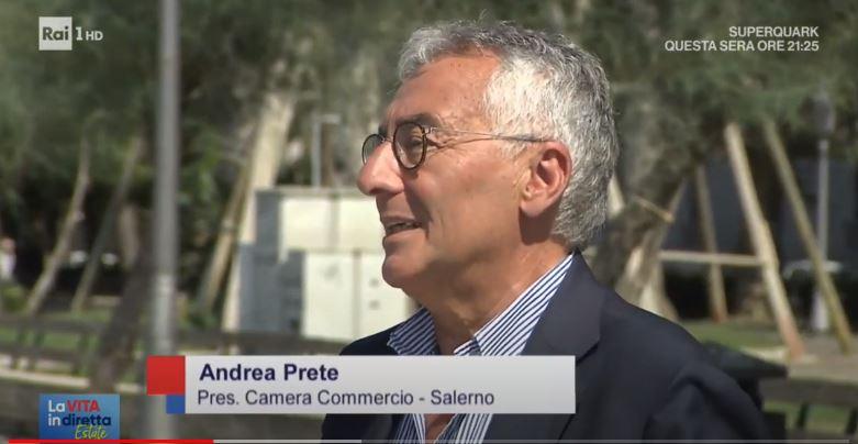 Andrea Prete, vita in diretta