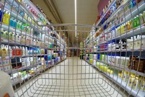 supermercato, carrello, ecommerce
